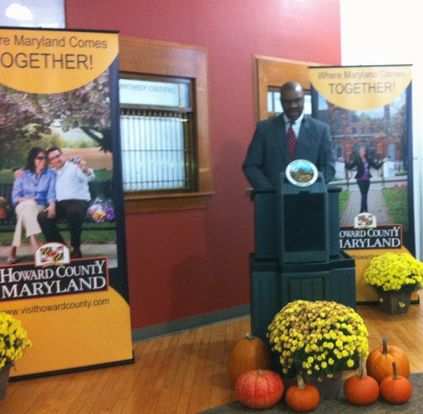 Acting Secretary Snuggs welcomes Ellicott City into the Main Street Maryland program.