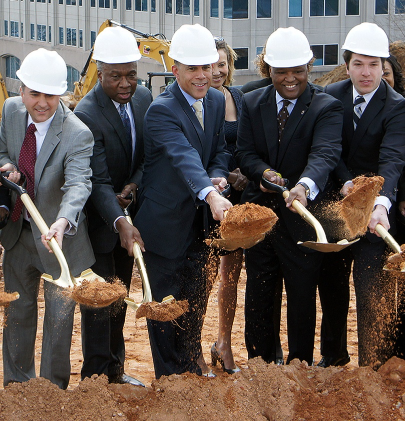 The groundbreaking for DHCD's new headquarters in New Carrollton, MD. was one of the memorable events of 2014.