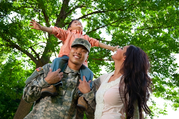 DHCD offered special Maryland Mortgage Program rates and significant down payment assistance to military personnel , veterans and disabled veterans through the Maryland Homefront initiative.